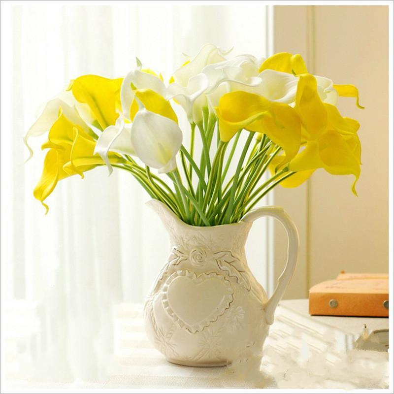 Artificiale Calla Lily fiori artificiali decorazione di nozze decorazione della casa Decorazione del partito