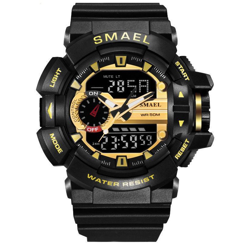 Sport Uhr Männer Digital LED Uhr 50 Mt Wasserdicht Tauchen Uhren Militär Männer Armbanduhr relogios masculino montre homme drop verschiffen
