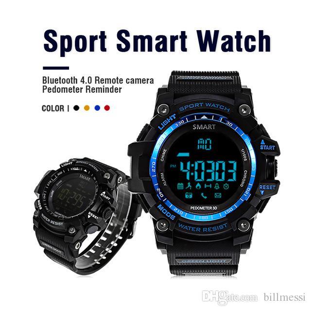 AIWATCH XWATCH Esporte Relógio Inteligente À Prova D 'Água Pedômetro Cronômetro Smartwatch Chamada Lembrete de Mensagem Relógio de Pulso Android smartwatch + B