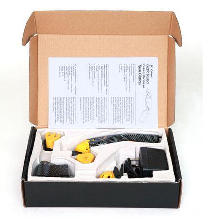 Hassas kumaş kesme ve düzeltme ihtiyaçları için EC CUTTER elektrikli kesme makası