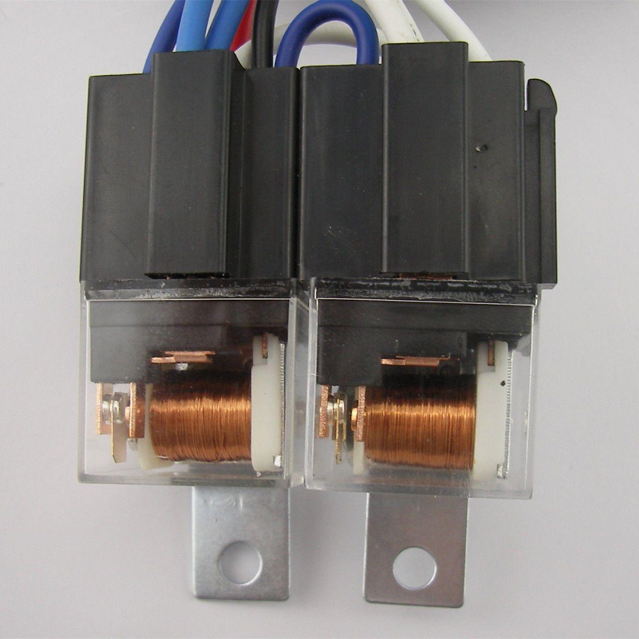 Oem H4 Headlight Relay Wiring Harnes System 4 Headl Light Bulb