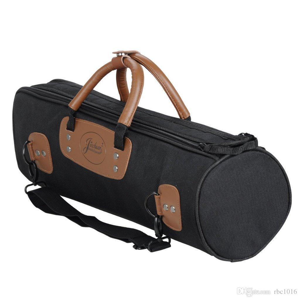 Borsa Gig per Tromba / Clarino Resistente all'acqua 15mm Tasca grande con cerniera imbottita E-16A nera
