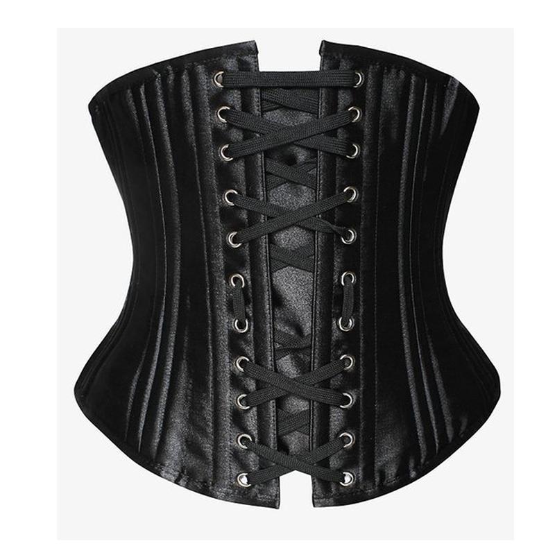 Steampunk Corsets Pour Femmes Gothique Vêtements Corsets Et Bustiers Sous-buste Corset 24 Acier Désossé Costume Burlesque