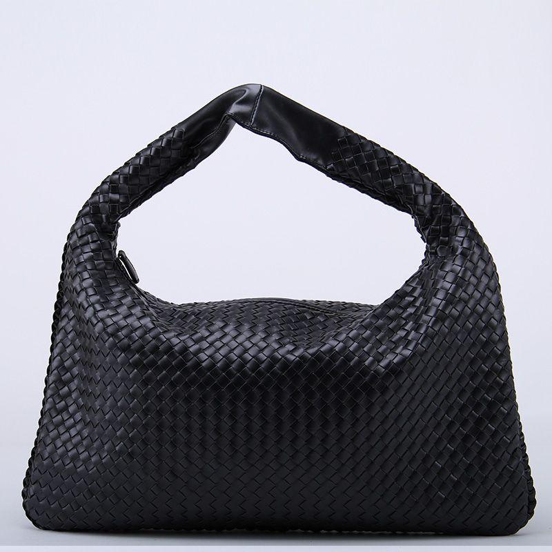 Fashions Womens gewebte Handtasche Ledertasche Lady Umhängetasche große Reisetasche klassische Designer Frauen Totes