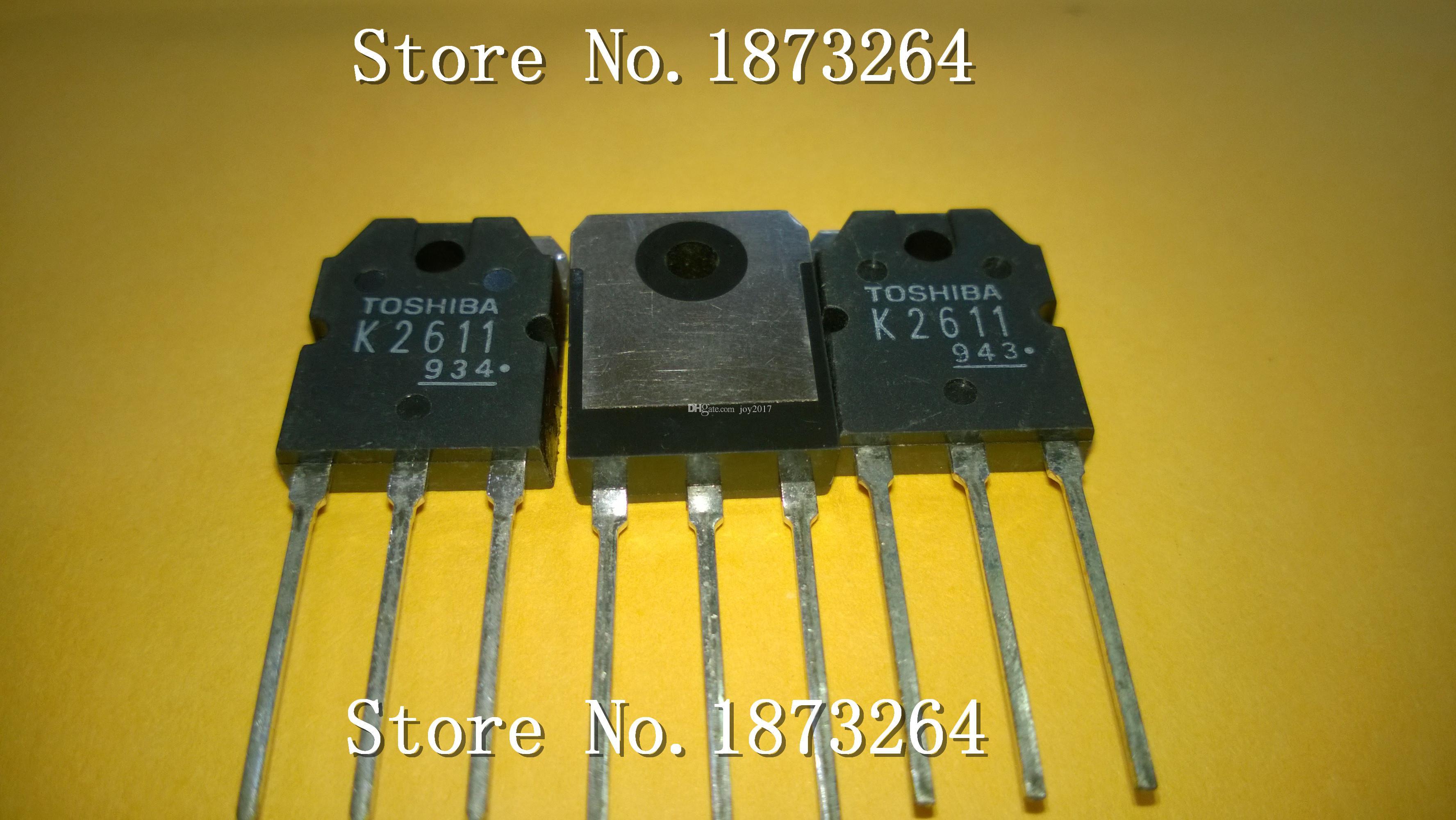 Frete grátis K2611 2SK2611 TO3P Novo e original 5 PÇS / LOTE