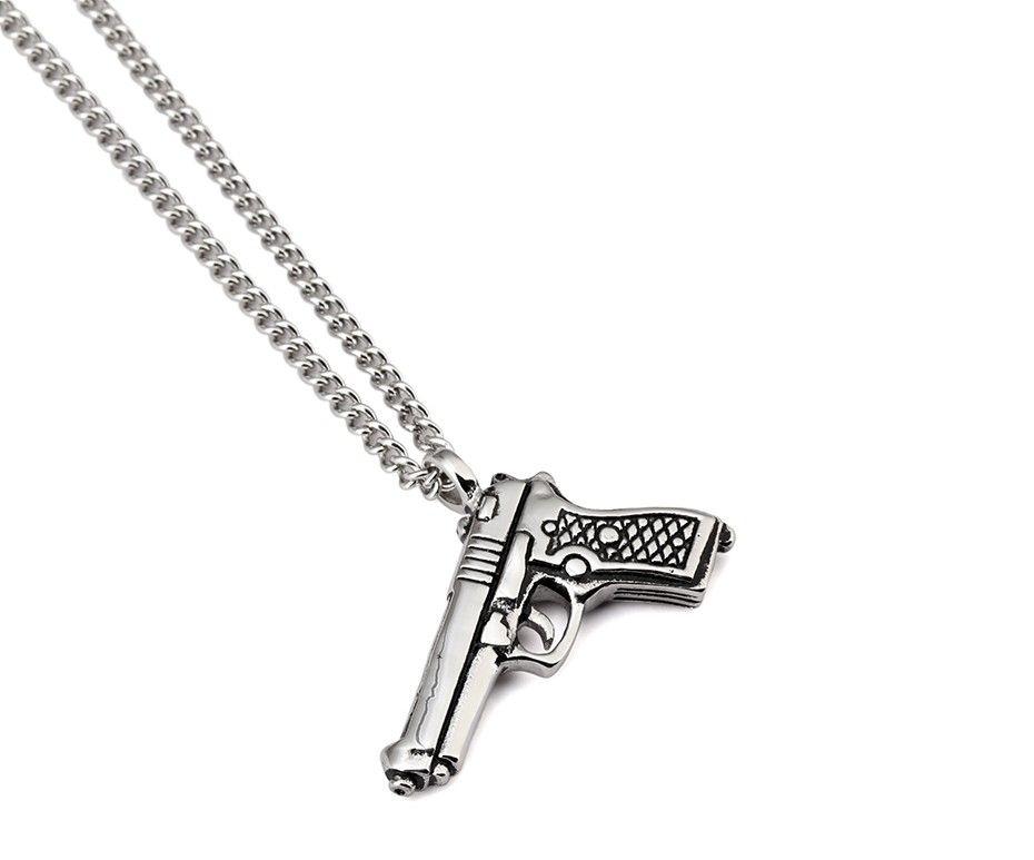 Gun Pendant Necklace_11