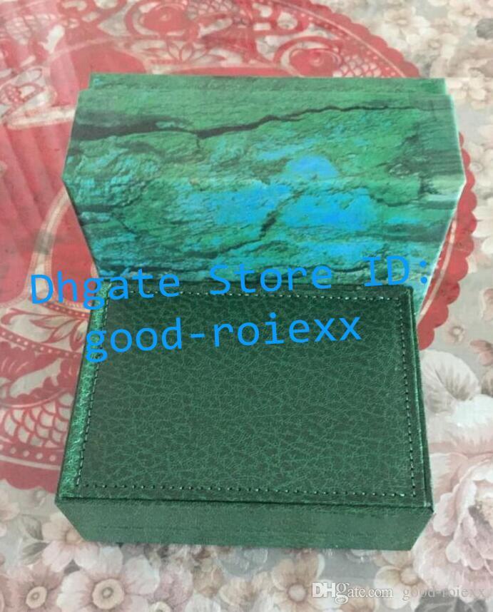 Mens de luxe vert intérieur extérieur unisexe regarder Date Date Box Original papiers Yacht Cosmograph Sky 116900 Mer Président Cellini Montres Boîtes