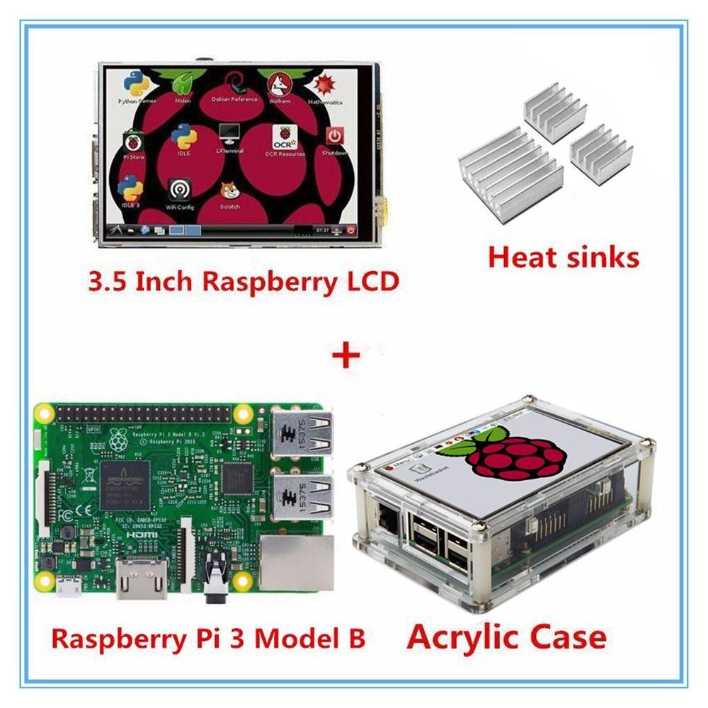 Raspberry 3//b// 3,5 Pollici Display chassis