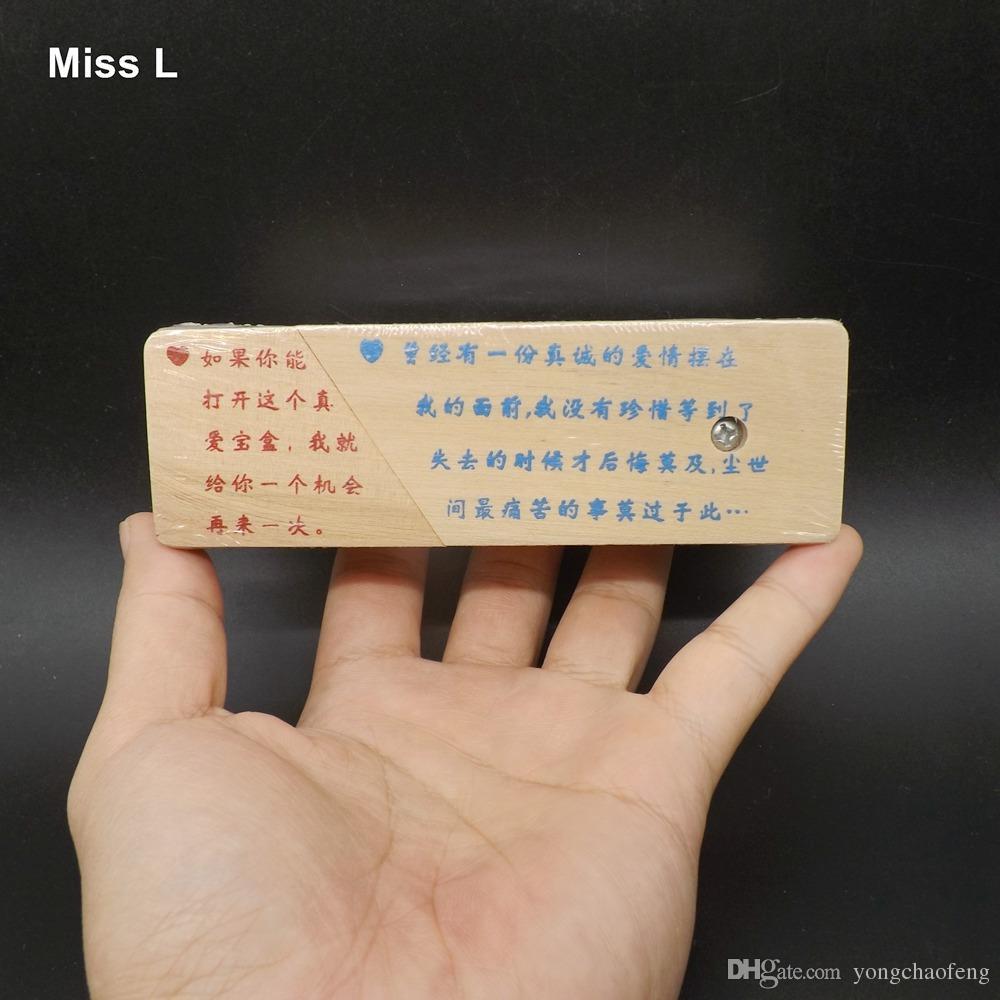 Interessante Magic Box schwer zu öffnen Enigma Puzzle Geschenk für Erwachsene Spielzeug Intelligenz Mind Game Anti Stress Weihnachtsgeschenk