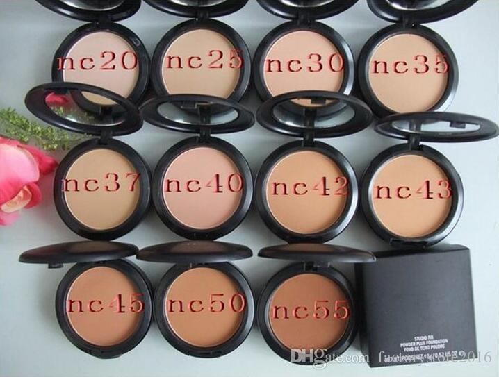 Drop shipping Prix le plus bas Meilleures ventes Nouveau maquillage POUDRE PLUS LA FONDATION DE TEINT POUDRS FOND 15g + cadeau