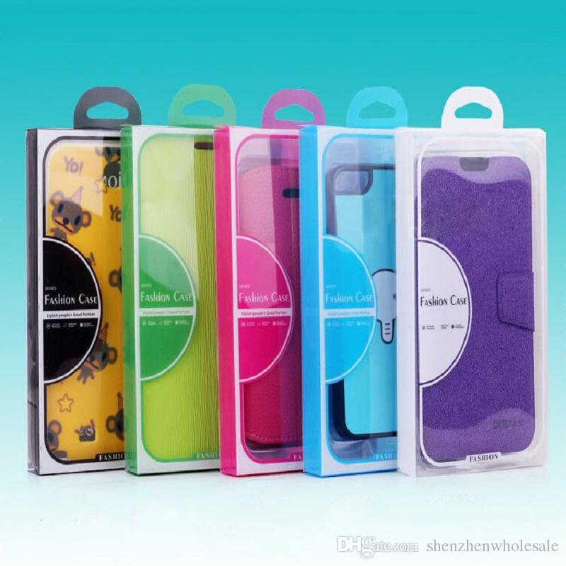 الأزياء نفطة التعبئة والتغليف البلاستيكية التجزئة مربع / حزمة لحالة الهاتف المحمول ، للهاتف الخليوي الذكية مذكرة الهاتف 3 S5 ، 1200pcs / Lot