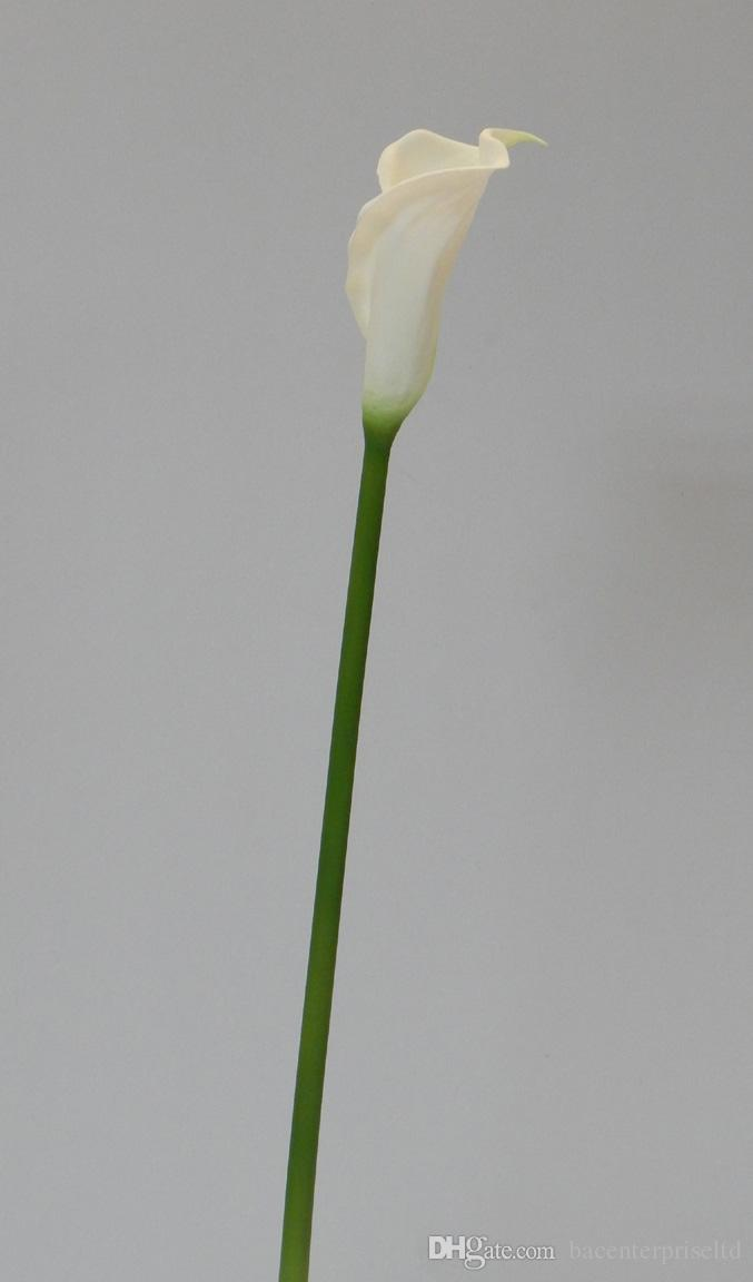 2020 25 Real Touch Latex Calla Lily Single Stem Artificial Spring