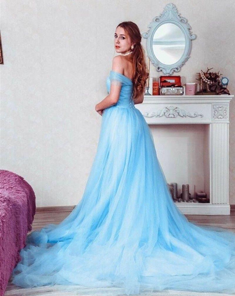 Discount Light Blue Pregnant Wedding Dresses Vintage Wedding Gowns ...