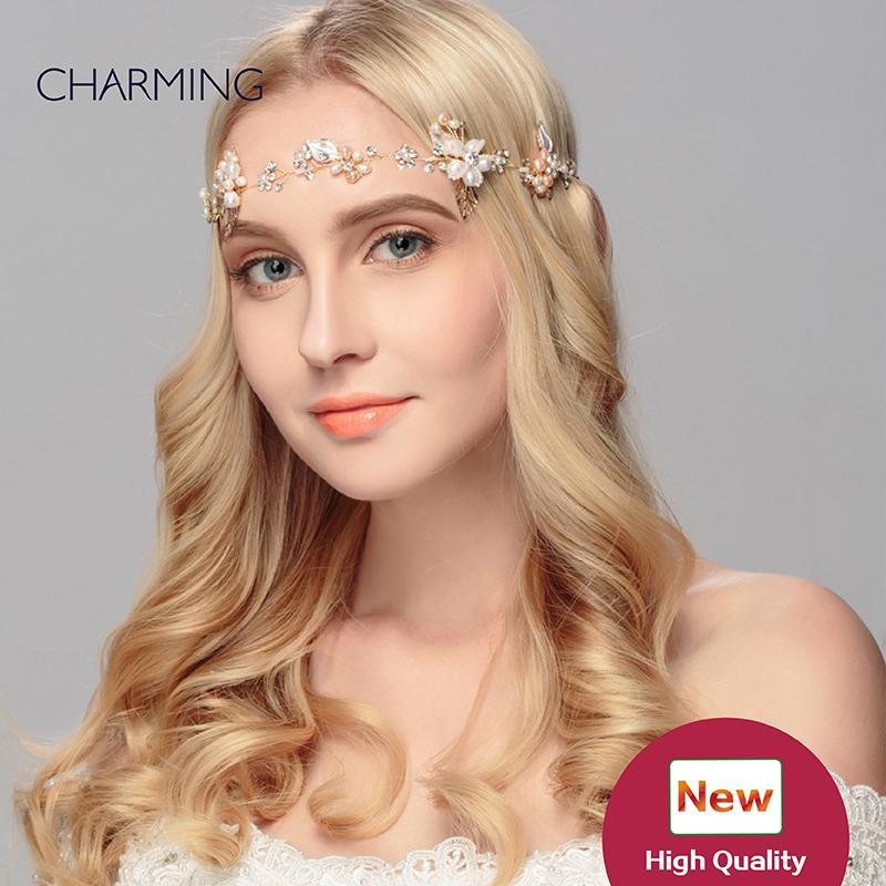 pearl tiara pretty hair accessories wedding accessories hair metal bridal tiaras crystals pearls hair accessories for sale wholesale