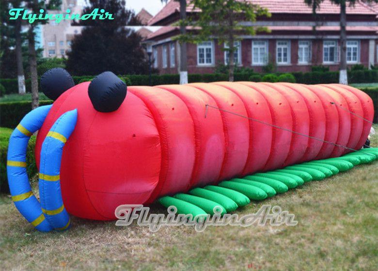 La vita di Heimlich gonfiabile Caterpillar 6m Carino A Bug per insetti Indicato