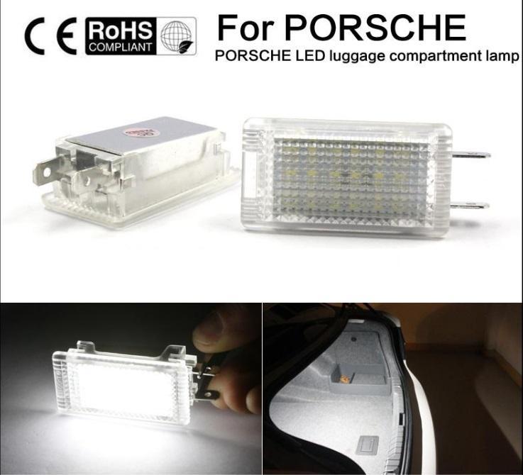 Нет ошибка светодиодные багажник капот свет для Porsche 987 Cayman Boxster 996 997 911 Carrera