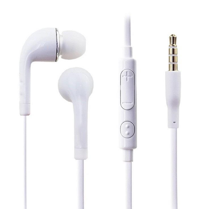 2017 Black Wired Promotion White Earphone Case Wholesale S4 S6 S7 Wire Control Headset Forwired Andrews Listen To Music J5 Ear Headphones