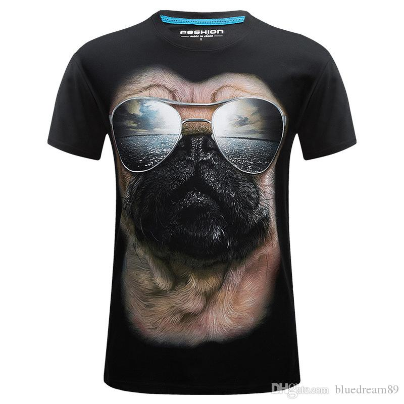 Plus size fat 3d tee t shirt printed fashion hip hop funny designer mens t shirts casual summer student casual tshirts for men