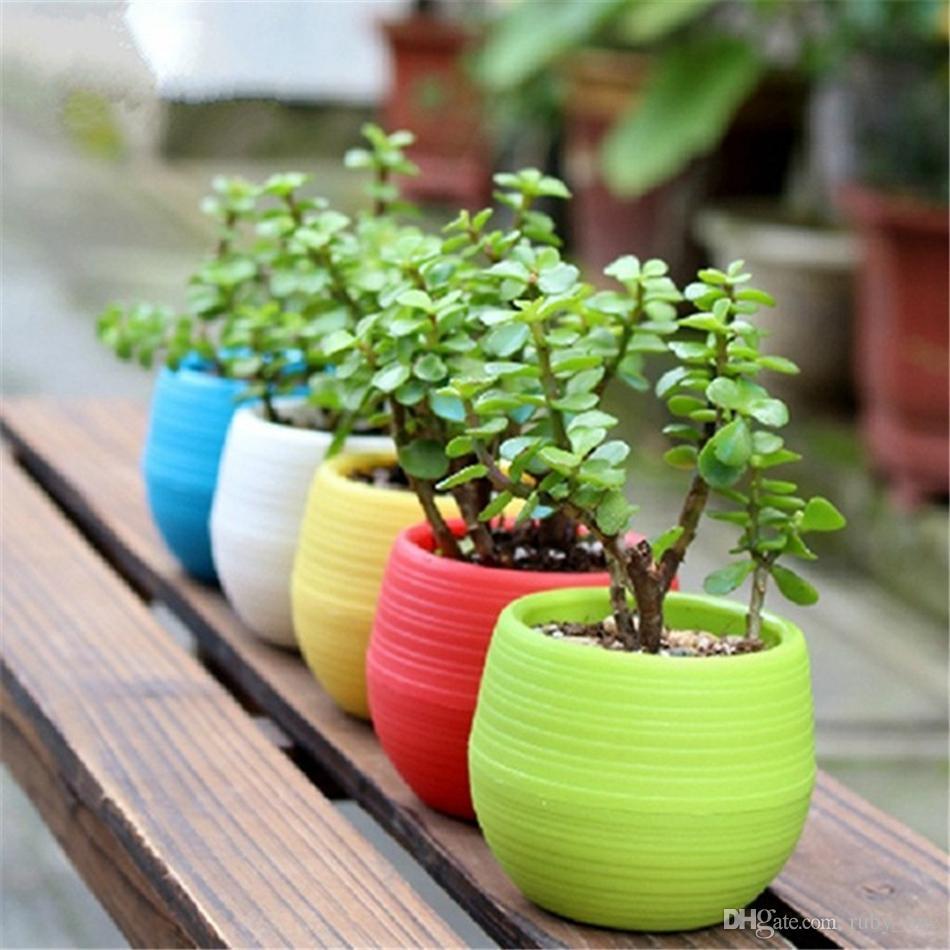 Vasi Da Giardino Colorati acquista vasi da fiori colorati vaso da fiori vasi da fiori in plastica  vaso da fiori vasi da giardino decorazioni giardino ooa1571 a 0,34 € dal