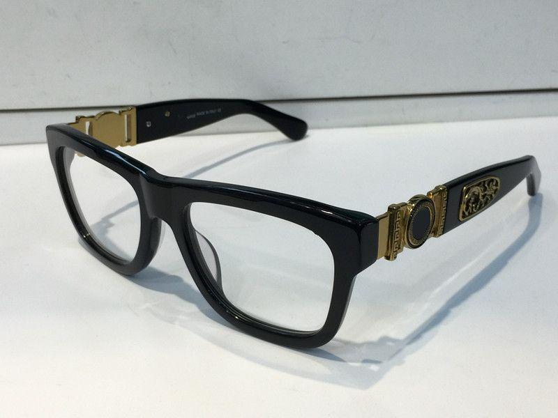 Designer di lusso occhiali da vista occhiali da vista 426 occhiali da vista vintage telaio uomo moda occhiali da vista con custodia originale in oro retrò placcato