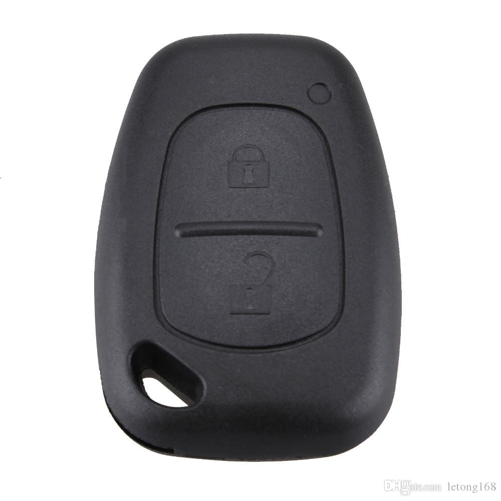 Guaranteed 100% Replacement 2 Buttons Remote Key Case For Renault Opel Vauxhall for Nissan Vivaro Traffic Primastar Free Shipping