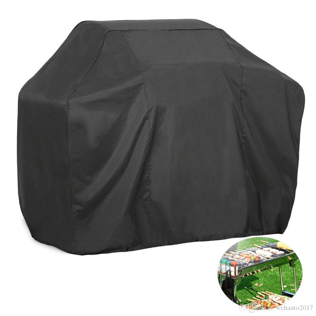 BBQ Grill Cover,Black Waterproof Dust-proof Grill Cover Fading Resistant BBQ Grill Covers for Holland Weber, Brinkmann, Jenn Air