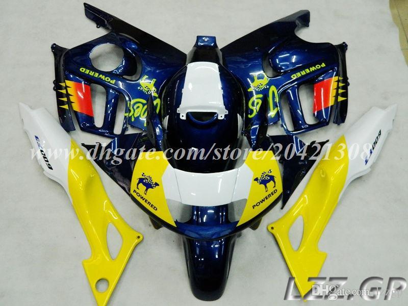 fairings+tank for Honda CBR600F3 97-98 CBR600F3 1997-1998 CBR600 F3 1997 1998 fairing sets #h30l1 black blue flame