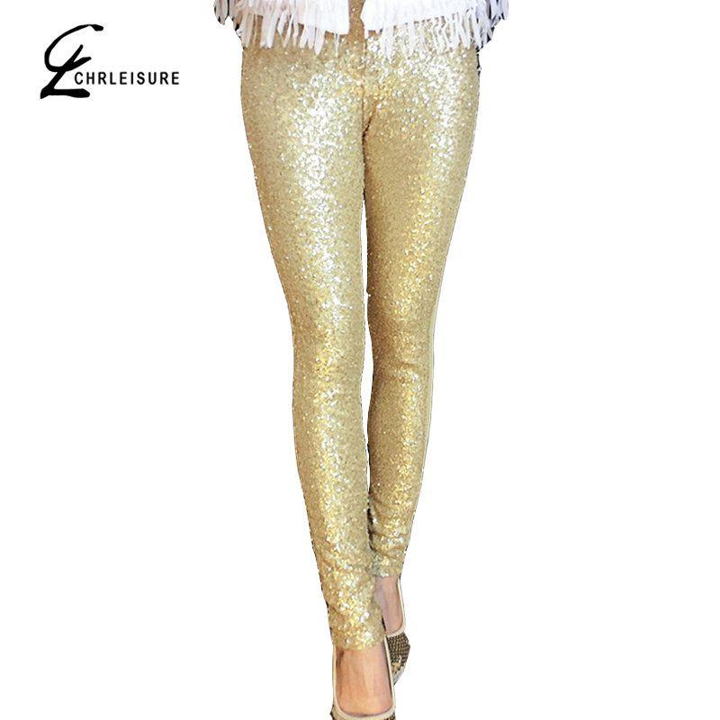 super populaire 3b02b f6c2b Acheter CHRLEISURE S L Femmes Paillettes Leggings Fashion Bling Brillant Or  Noir Argent Paillettes Sequin Formelle Femmes Leggings De $19.73 Du My11 |  ...