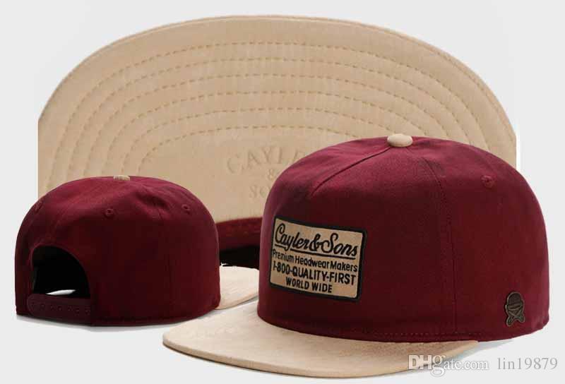 العلامة التجارية الشارع للتعديل العظام cayler أبناء 1 800 الجودة أولا قبعة رسائل البيسبول قبعات الرجال النساء gorras الهيب البوب snapback القبعات casquette