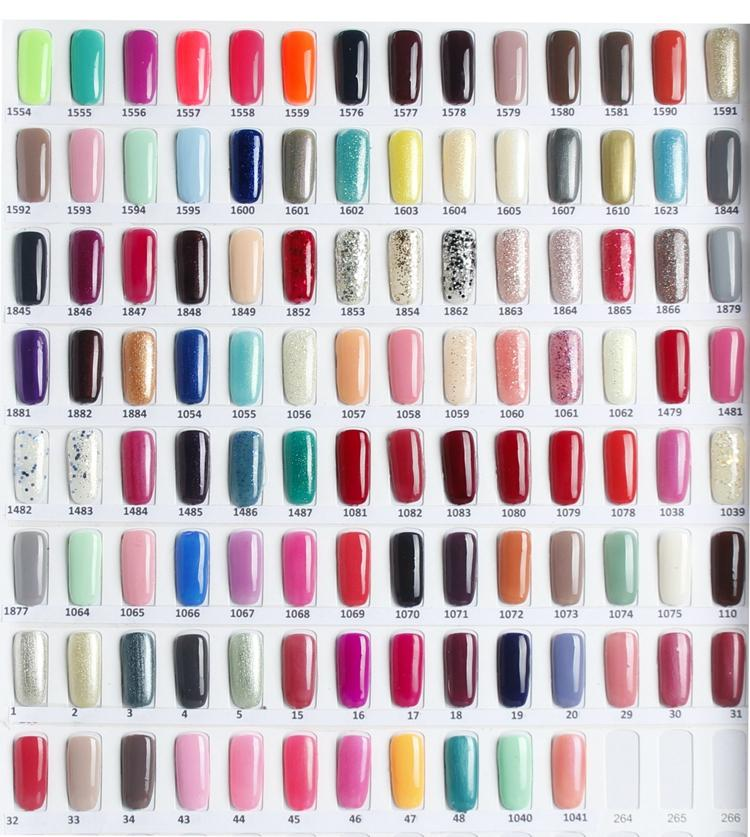 Top Quality Harmony Gelish Nail Polish Colors Led Uv Gel Nail Art ...