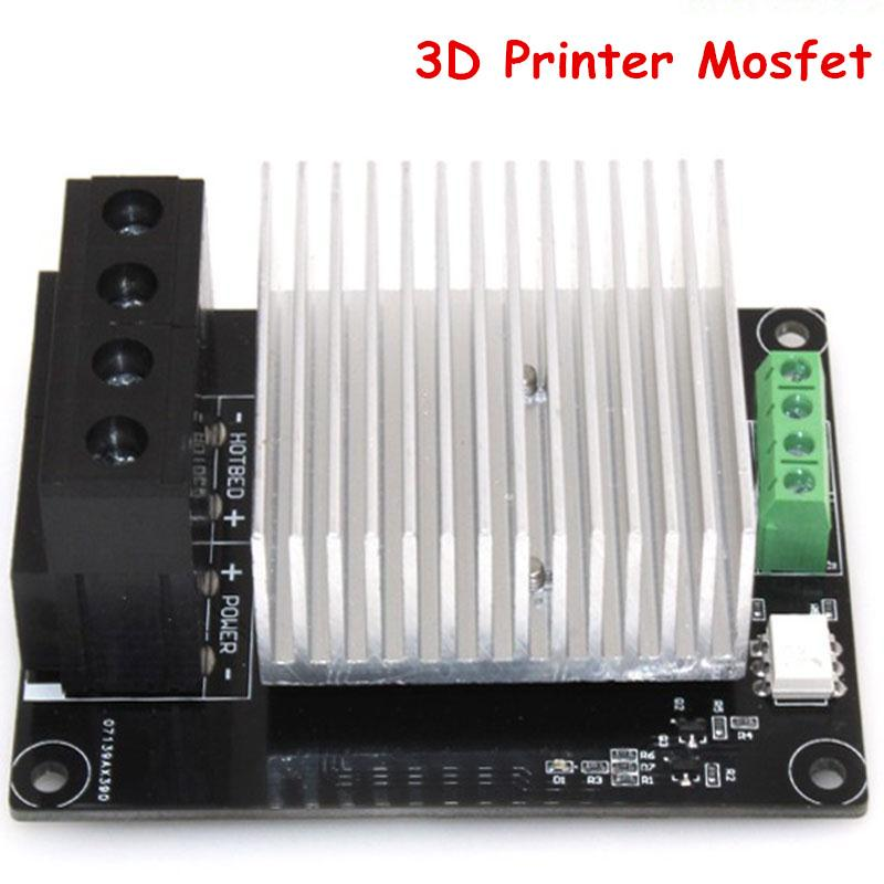 Freeshipping 3D Printer Parts Heating Controller MKS MOSFET Module For Heated Bed/ 3D TEVO Printer Extruder exceed 30A