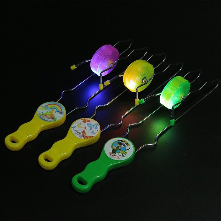 Йо Йо Йо железный рельс флэш светодиодные игрушки оптом подарок для детей