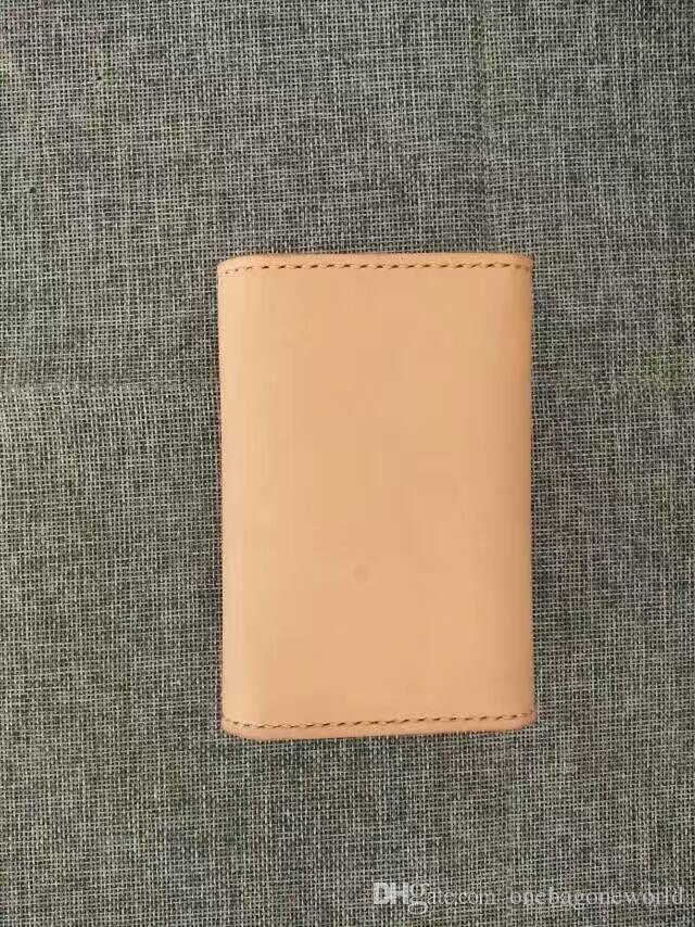 Großhandel China Original Manuelle Arbeit Kreditkarteninhaber Handgemachte Einfache Visitenkartenetui Echtes Leder Brieftasche Vintage Karte