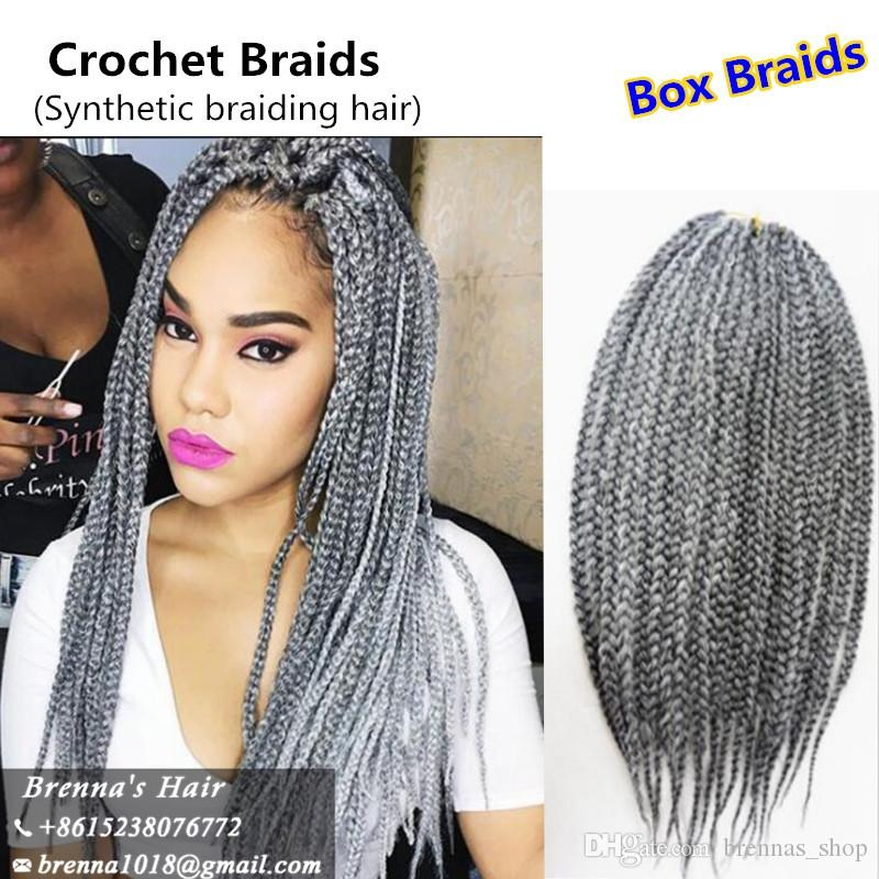 DHL lace wigs Epacket to brazil BOLETO brazilian hair wigs braided lace front wig 22inch 3x box braids black synthetic wigs UK USA AFRICAN