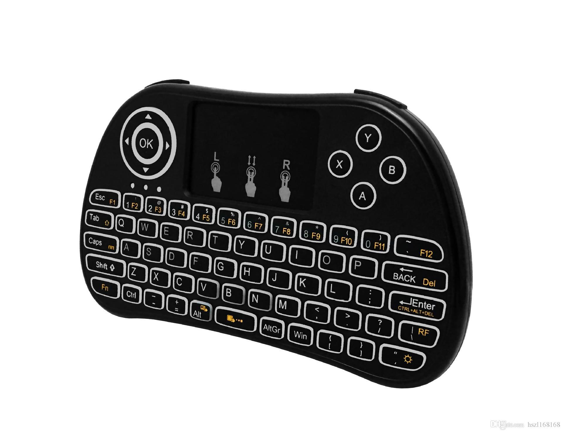Оригинал летать воздуха Мышь i86 P9 литиевая батарея 2.4G Беспроводная клавиатура Пульты дистанционного управления тачпад для PC Notebook Android TV Box VS i8