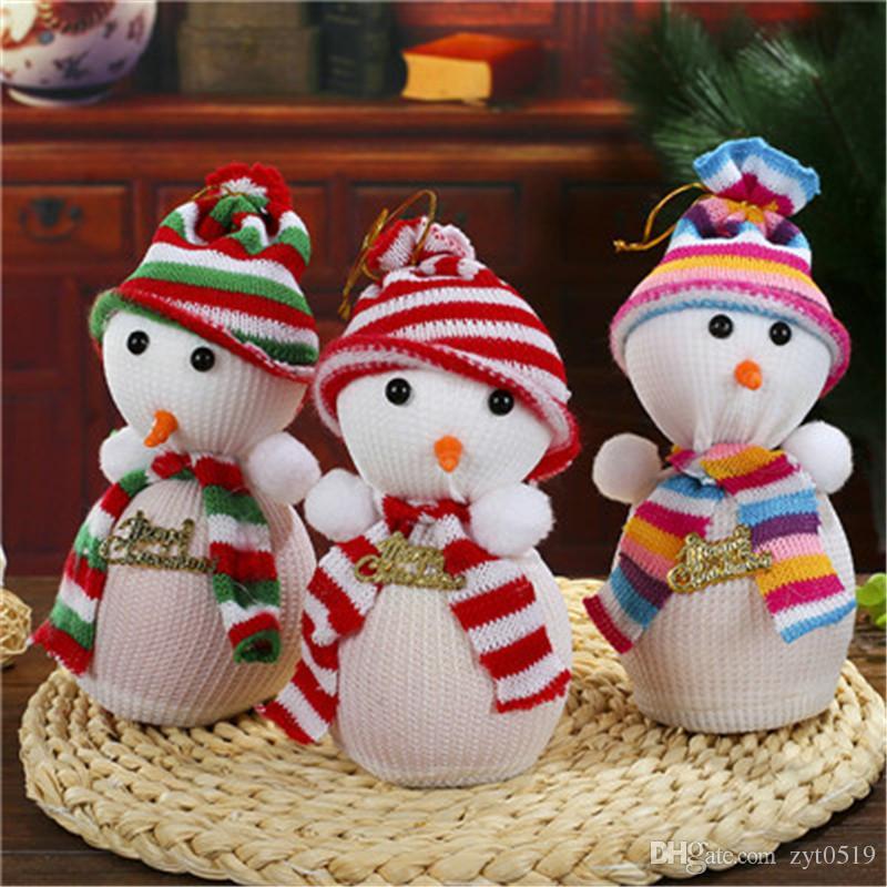 nuevos regalos innovadores de apple de la vspera de navidad del mueco de nieve del