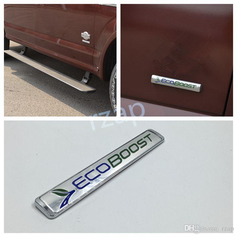Style de voiture Pour Ford F150 ECOBOOST Emblème 2015-2016 Porte Queue porte ECO BOOST Badge Signe Logo
