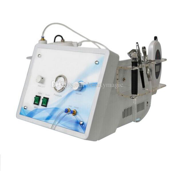 4 em 1 Hydro MciroderMabrasão Diamante MicroderMabrasão de Oxigênio Spray Pele Scrubber Hydra Dermaabrasão Oxigênio Máquina Facial para Salão Uso
