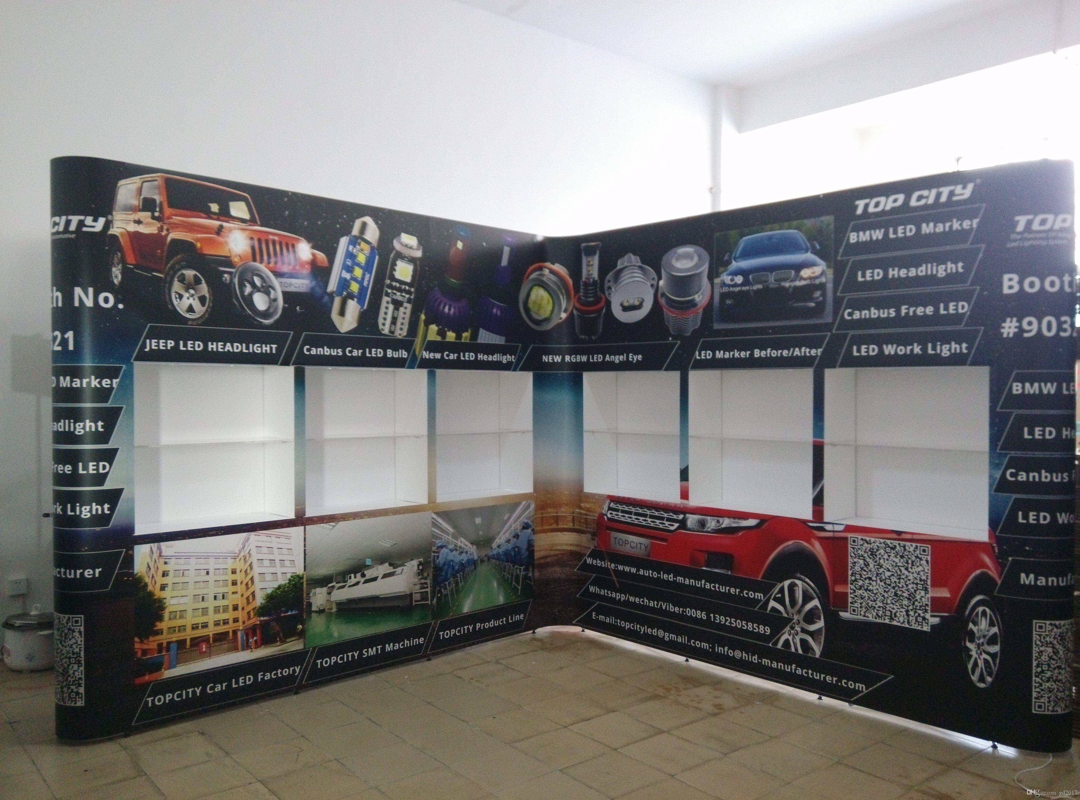 Beautiful Ft Diversified Portable Trade ShowExhibition - Portable car show display stand