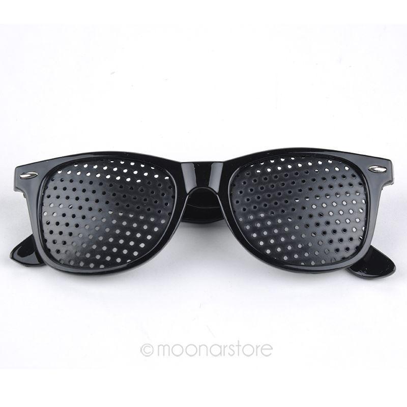 Видение Очки Зрение Улучшитель Пинхол Пинхол Глаза Упражнение Очки Очки