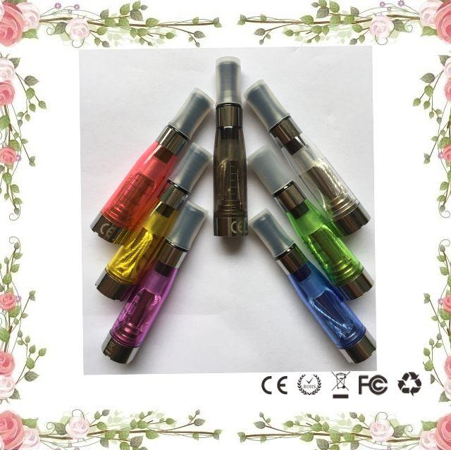 CE4 Clearomizer атомайзер Картомайзер 1.6 мл паровой бак электронная сигарета электронная сигарета для эго батареи 8 цветов 4 длинные wicksCE4 1.6 мл распылять