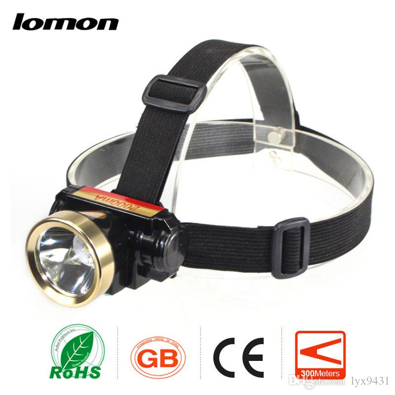 LED Headlamp CREE 2 Modes Strong Light Super Brightest Rechargeable Battery High Power Ultralight Waterproof Outdoor Sports Headlight Torch
