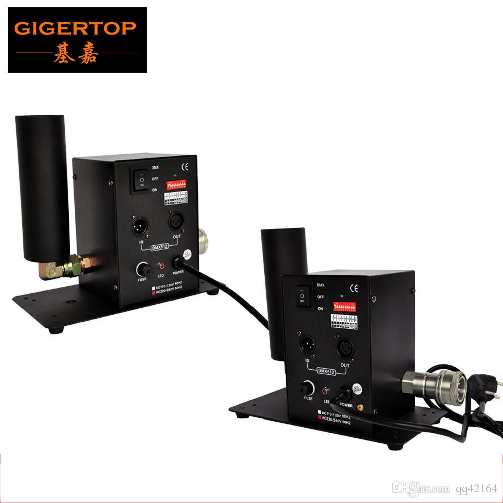 Free Shipping 2pcs/lot Single Tube CO2 Machine Jet Effect Stage Lighting co2 shooting effect DMX512 Column Jet Equipment 110V/220V TP-T27