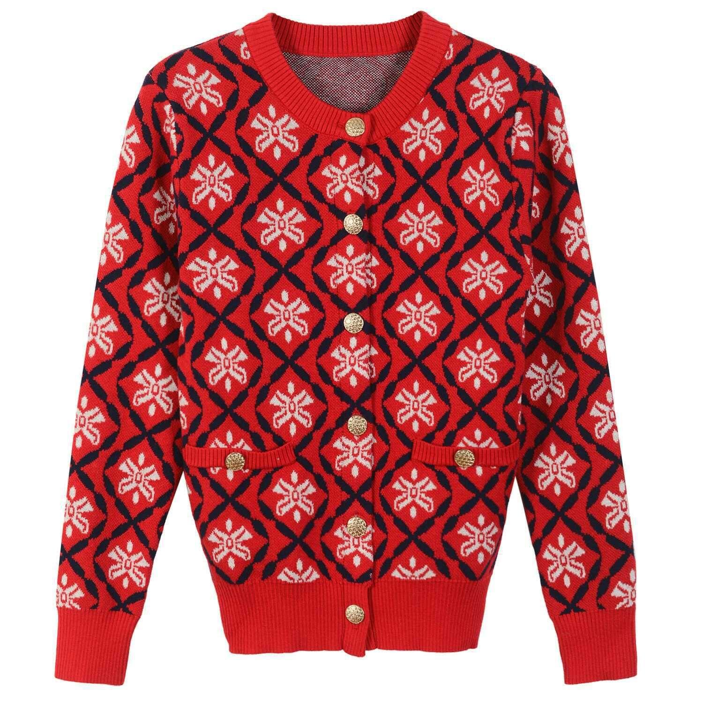 2017 2017 Women Sweater Cardigan Regular Long Sleeve Crew Neck ...