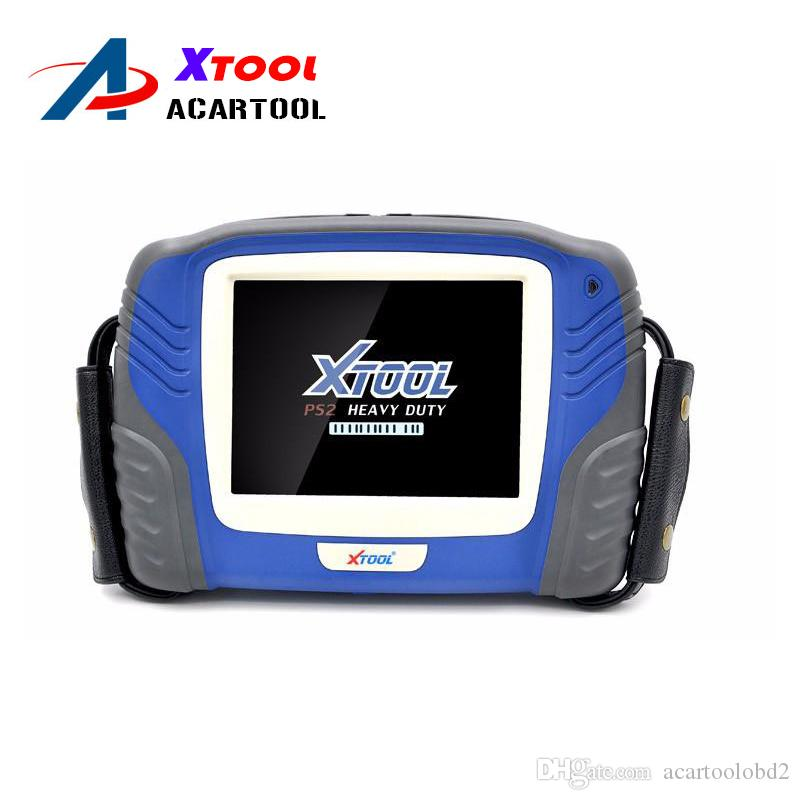 Professional Truck Diagnostic Tool Oringinal XTOOL PS2 OBD2 Auto Scanner PS2 Heavy Duty with Bluetooth Update Free Online