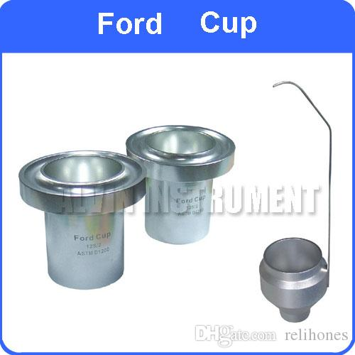 Ford Cups 2% di precisione ASTM FLOW CUP per una facile misurazione della viscosità di vernici, inchiostri, lacche e altri liquidi ASTM D1200, D333 e D365