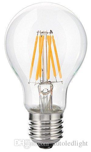 De Claro Bombilla E26 LED Luz LEDMedio 100W La LED Filamento BaseSuave Blanca Bombilla A19 Bombilla Compre 2700KEdison Vintage 10W De W29EIDH