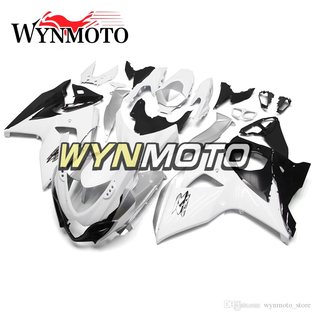 Fairings For Suzuki GSXR1000 K9 Year 2009-2016 09 10 11 12 13 14 15 16 Injection ABS Plastic Motorcycle Panels White Silver Black Fairings