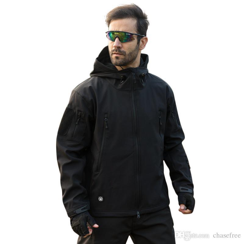 TAD Brand Jacket V4.0 Military Tactical Men Jacket Lurker Shark Skin Soft Shell Waterproof Windproof Men Winter Jacket Coat