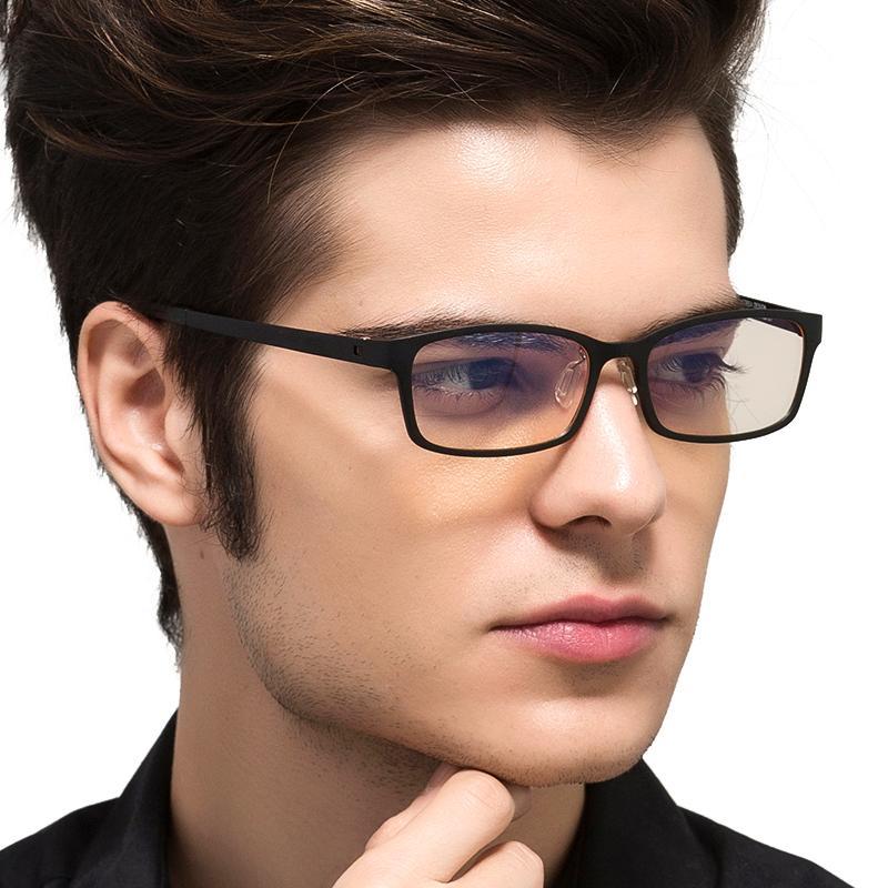 TUNGSTEN CARBON Computerschutzbrille Anti Blue Laser Fatigue Strahlenresistente Lesebrille Brillen Oculos de grau 1310